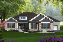 Home Plan - Ranch Exterior - Front Elevation Plan #70-1149