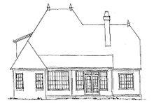 Home Plan - European Exterior - Rear Elevation Plan #20-321