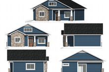 Architectural House Design - Ranch Exterior - Other Elevation Plan #1077-8