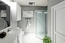 Architectural House Design - Cottage Interior - Master Bathroom Plan #44-246