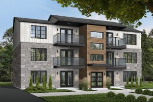 Traditional Exterior - Front Elevation Plan #23-777