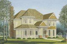 Victorian Exterior - Front Elevation Plan #410-107