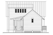 Beach Style House Plan - 3 Beds 4 Baths 2085 Sq/Ft Plan #443-5 Exterior - Rear Elevation
