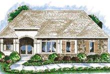 Dream House Plan - Mediterranean Exterior - Front Elevation Plan #20-1383