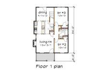 Cottage Floor Plan - Main Floor Plan Plan #79-140