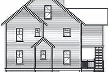 Traditional Exterior - Rear Elevation Plan #23-869