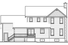 Farmhouse Exterior - Rear Elevation Plan #23-2651