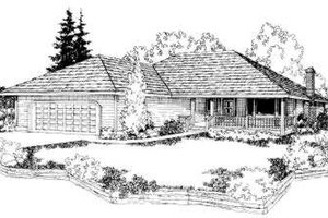 Traditional Exterior - Front Elevation Plan #303-285