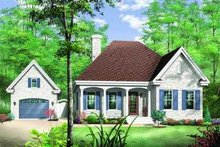 Farmhouse Exterior - Front Elevation Plan #23-347