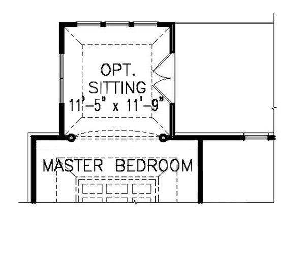 Dream House Plan - Traditional Floor Plan - Main Floor Plan #54-414