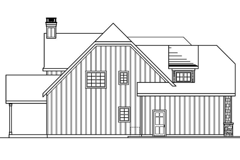European Exterior - Other Elevation Plan #124-688 - Houseplans.com