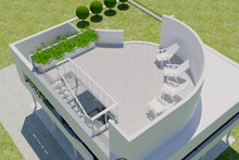 Dream House Plan - Modern Exterior - Outdoor Living Plan #542-17