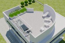 Architectural House Design - Modern Exterior - Outdoor Living Plan #542-17