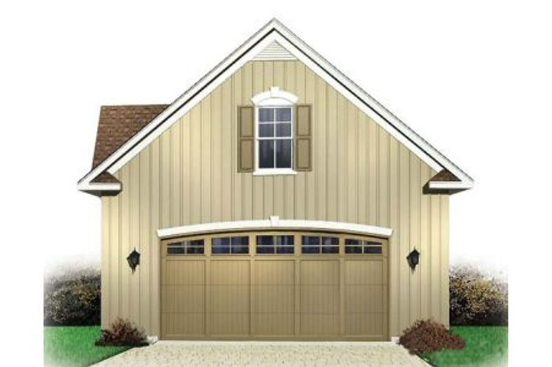 Craftsman Exterior - Front Elevation Plan #23-436