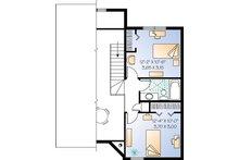 Contemporary Floor Plan - Upper Floor Plan Plan #23-2175