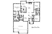 Craftsman Style House Plan - 3 Beds 2.5 Baths 1836 Sq/Ft Plan #921-22 Floor Plan - Main Floor Plan