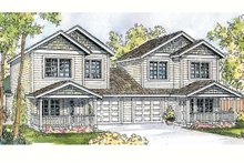 Home Plan - Traditional Exterior - Front Elevation Plan #124-813