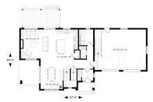 Modern Floor Plan - Main Floor Plan Plan #23-2309