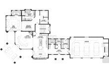 Craftsman Floor Plan - Main Floor Plan Plan #928-304