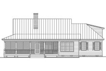 Farmhouse Exterior - Rear Elevation Plan #137-376