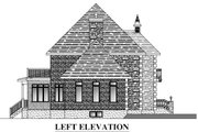 European Style House Plan - 4 Beds 2.5 Baths 3269 Sq/Ft Plan #138-339 Exterior - Other Elevation