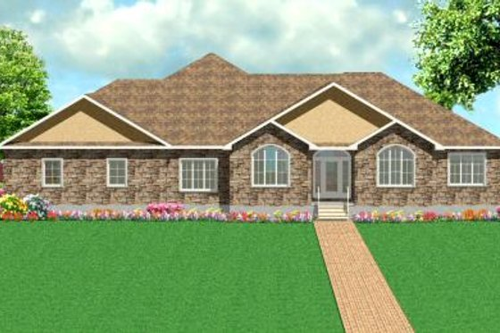 Traditional Exterior - Front Elevation Plan #414-117
