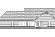 Country Exterior - Rear Elevation Plan #21-188