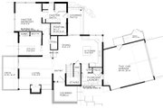 Modern Style House Plan - 4 Beds 2.5 Baths 2257 Sq/Ft Plan #895-24 Floor Plan - Main Floor Plan
