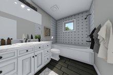 House Design - Hall Bath