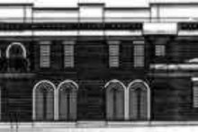 House Plan Design - European Exterior - Rear Elevation Plan #119-187