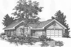 Traditional Exterior - Front Elevation Plan #329-145
