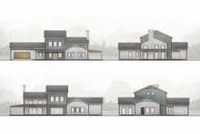 Modern Exterior - Other Elevation Plan #924-6
