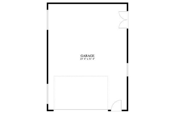 House Plan Design - Traditional Floor Plan - Main Floor Plan #1060-92
