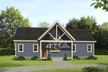 House Design - Country Exterior - Front Elevation Plan #932-254