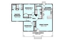 Cottage Floor Plan - Main Floor Plan Plan #44-175