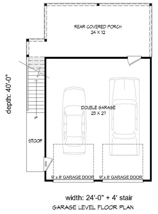 Cottage Floor Plan - Main Floor Plan Plan #932-241