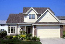 Home Plan Design - Traditional Exterior - Front Elevation Plan #20-290