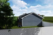 Ranch Style House Plan - 2 Beds 1 Baths 931 Sq/Ft Plan #1060-38 Exterior - Other Elevation