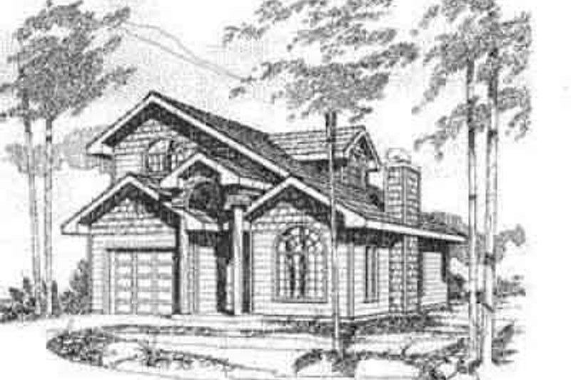 Home Plan - Traditional Exterior - Front Elevation Plan #117-188