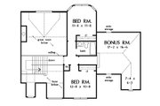 European Style House Plan - 4 Beds 3 Baths 2387 Sq/Ft Plan #929-570 Floor Plan - Upper Floor Plan