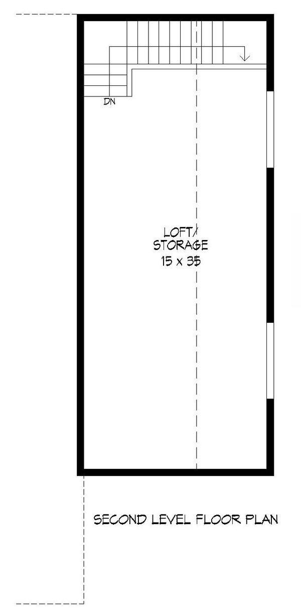 Dream House Plan - Country Floor Plan - Upper Floor Plan #932-74