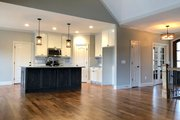 Ranch Style House Plan - 3 Beds 2.5 Baths 2303 Sq/Ft Plan #437-77 Interior - Kitchen