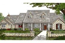 Dream House Plan - European Exterior - Front Elevation Plan #310-234