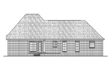 House Design - Traditional Exterior - Rear Elevation Plan #430-13