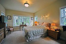 Dream House Plan - Contemporary Photo Plan #124-757