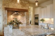 Mediterranean Style House Plan - 4 Beds 4 Baths 3069 Sq/Ft Plan #80-141 Interior - Kitchen