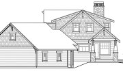 Craftsman Style House Plan - 3 Beds 3.5 Baths 2662 Sq/Ft Plan #124-880 Exterior - Other Elevation