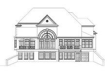 Dream House Plan - European Exterior - Rear Elevation Plan #119-249
