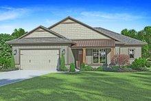 House Plan Design - Craftsman Exterior - Front Elevation Plan #938-99