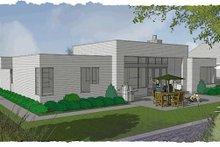 Modern Exterior - Rear Elevation Plan #48-505